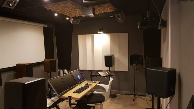 Spheric le montage son VR ready /Spheric sound editing room ready for VR
